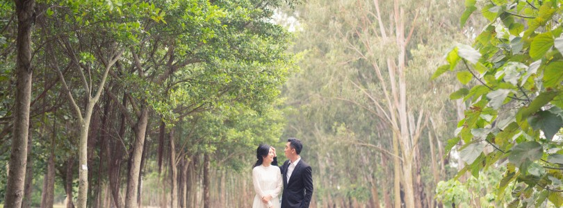 文青系Pre-Wedding of Cookie and Johnson by The Hour Gallery