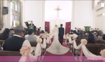 A wedding video shot on election day