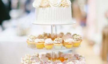 我的清新結婚蛋糕: Cupcake Tower