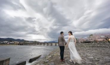 Zoie & Elvis Kyoto Sakura Pre Wedding