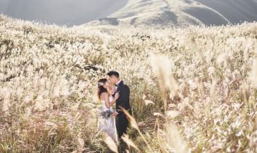 KAREN + BILLY PROPOSE MARRIAGE SUNSET PEAK CABINS LANTAU PRE-WEDDING