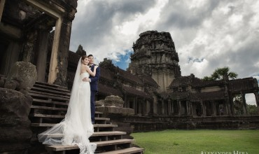 Cambodia Pre-Wedding by Alexander Hera