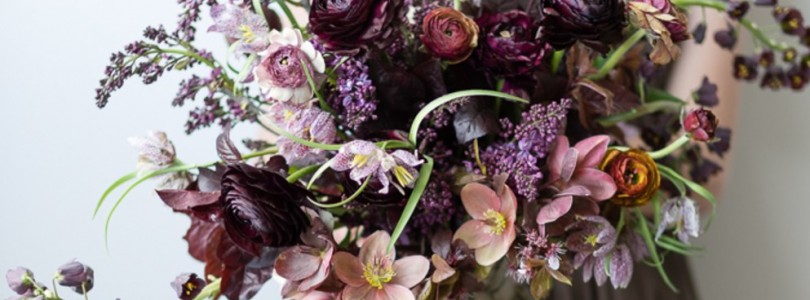 In Season Now: Fritillaria Wedding Flowers