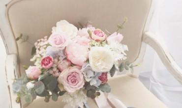 rose quartz和serenity花球