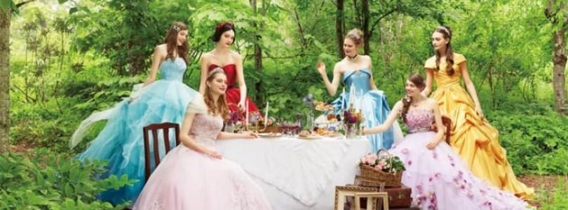 日本迪士尼夢幻公主禮服!11月開始接受預約 ??