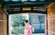 Kimono is always a good choice for engagement session in Japan!