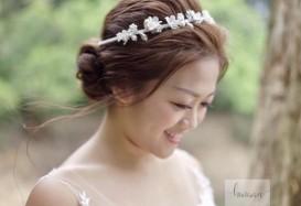 pretty bridal in pre wedding