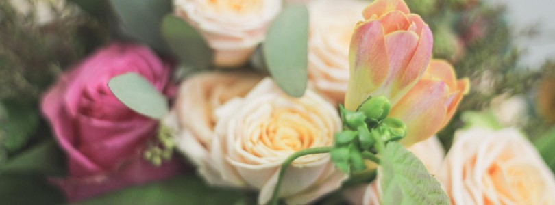 TROPICAL DELUXE BRIDAL BOUQUET AND MATCHING BOUTONNIERE