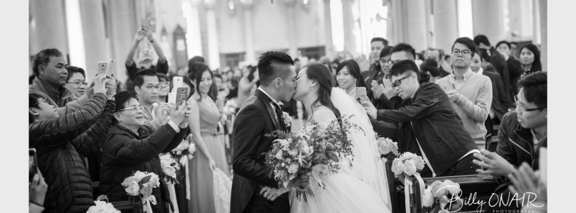 WEDDING DAY PHOTOS OF CYMBIE AND BRUCE (李志豪)