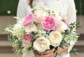 Fresh flower bouquet for Shuyi