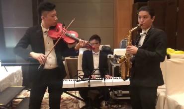Saxophone Violin Keyboard Trio 簡單愛