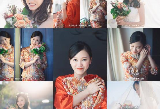 甜美可人的新娘子Koey