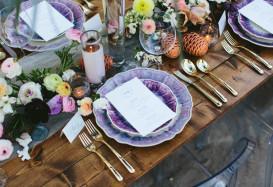 12 Ultra Violet Wedding Details for the Pantone-Obsessed