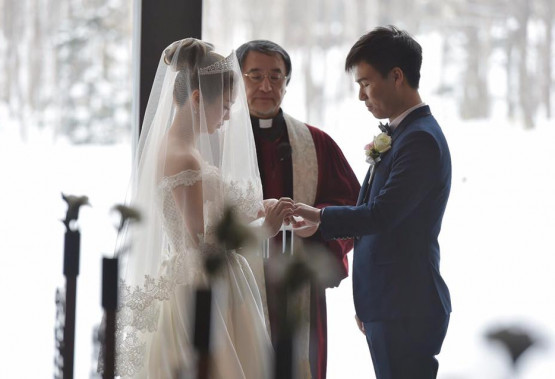 Congrats to Makiyo and Anson