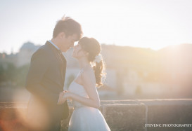 pre-wedding shoot in Prague