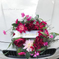 籐圈形結婚車花