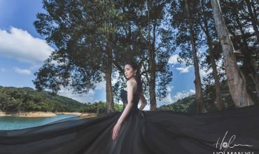 黑婚紗帶出新娘另一種特別的美