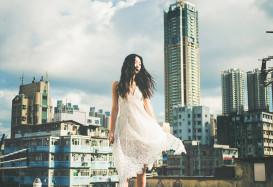 誰說婚紗照一定要裙擺白婚紗大教堂?