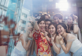 『Selfie』已經成為一個婚禮好重要嘅環節