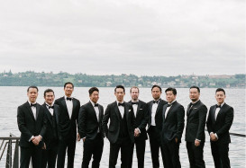 Nick and all his groomsmen.