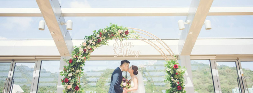 Beautiful wedding with wonderful weather!